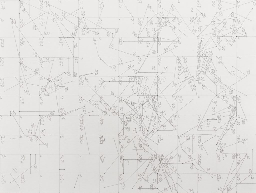 líneas determinadas: coordenadas XV | 2016