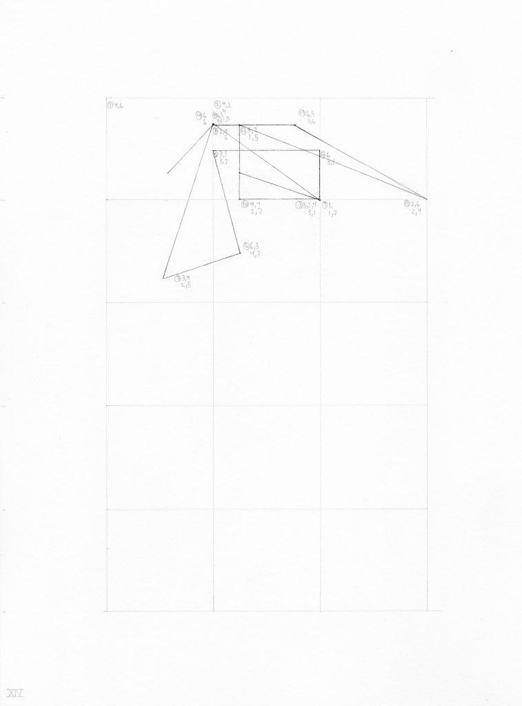 líneas determinadas: coordenadas unidad XIV | 2016