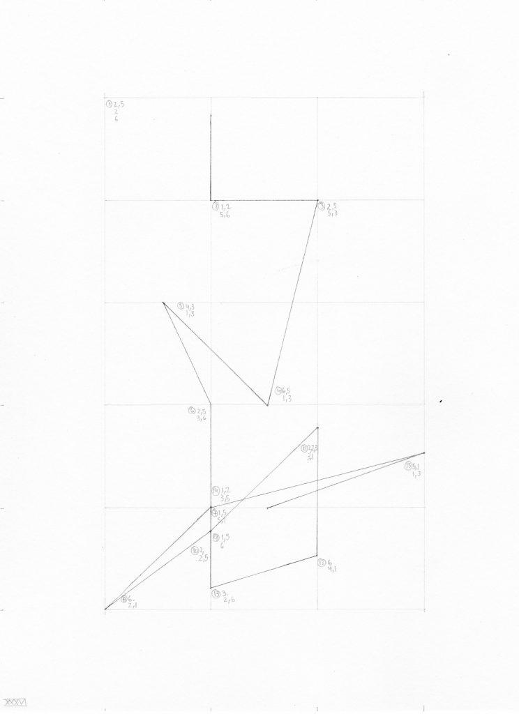 líneas determinadas: coordenadas unidad XXXVI | 2016