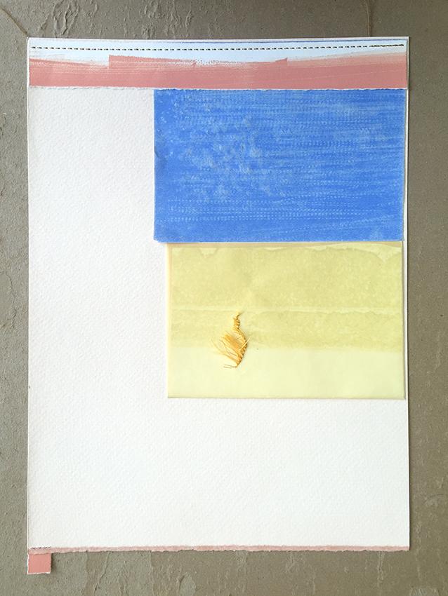 carpetas médicas ii | collage | 33,5 x 24,5 cm | 2014