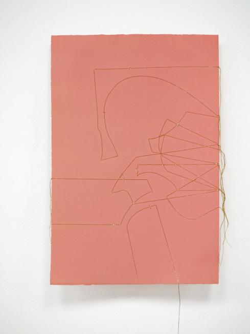 estructuras 19/14.3 | dibujo costura / intaglio | 56 x 38 cm | 2014