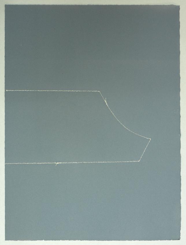 piezas de archivo 10/14.4 | dibujo costura / monotipo | 38 x 28 cm | 2013
