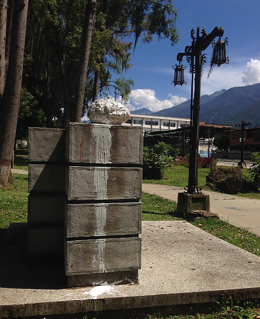 DAMNATIO MEMORIAE | 2017 | Intervención en espacio público
