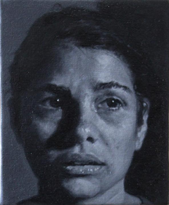 rostro de mujer | 2017 | 15 x 12,5 cm